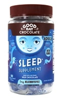 Sleep Supplement for Adults Chocolate 2 mg. - 80 Piece(s) by Good Day Chocolate