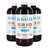 Nasal Wash Mucus Solvent & Cleaner - 3 Count by Alkalol Company
