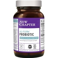 Probiotic All- Flora (富兰) 10 Billion CFU-30 Vegetarian Capsules by New Chapter (新章)