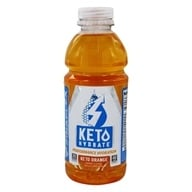 KetoHydrate Performance Hydration RTD Keto Orange-20 fl. oz. by FinaFlex