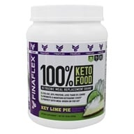 100 %Keto Food Ketogenic Meal Replacement Shake Powder Key Lime Pie-14.8 oz. by FinaFlex