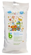 Toy, Table & Highchair Wipes Fragrance Free - 25 Count by BabyGanics (甘尼克宝贝)