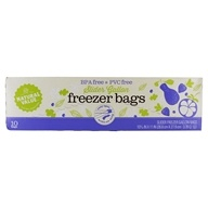 BPA & PVC Free Slider Gallon Freezer Bags - 10 Bags by Natural Value
