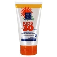 儿童防晒矿物乳液防晒不含香料30 SPF-4 fl。盎司由Kiss My Face