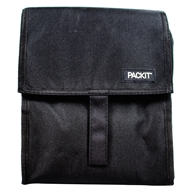 Lunch Bag Freezable Black by Packit