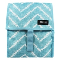Lunch Bag Freezable Aqua Tie Dye by Packit