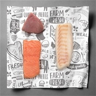 LuckyMeals - Wild Caught Sustainable Seafood Box - 18 Serving(s)