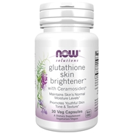 Glutathione Skin Brightener with Ceramosides - 30 Vegetable Capsule(s) by NOW Foods