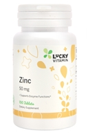 Zinc 50 mg. - 100 Tablet(s) by LuckyVitamin