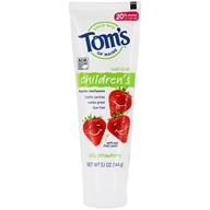 Natural Children's Fluoride Toothpaste Silly Strawberry - 5.1 oz. by Tom's of Maine