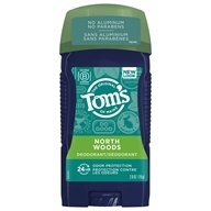 Long Lasting Wide Stick Deodorant Men's North Woods - 2.8 oz. by Tom's of Maine