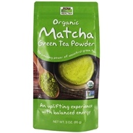 Real Tea Organic Matcha Green Tea Powder - 3 oz. by NOW Foods