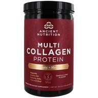 Ancient Nutrition - Multi Collagen Protein Powder Beauty + Sleep Vanilla Chai - 16.5 oz.