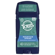 Men's Long-Lasting Wide Stick Deodorant Mountain Spring - 2.8 oz. by Tom's of Maine