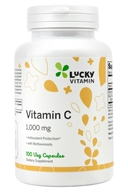 Vitamin C with Rose Hips 1000 mg. - 100 Veg Capsules by LuckyVitamin
