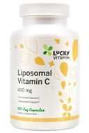 Liposomal维生素C 400 mg。100 LuckyVitamin胶囊, LuckyVitamin