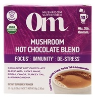 Mushroom Blend Drink Mix Hot Chocolate - 10 Packet(s) by Om