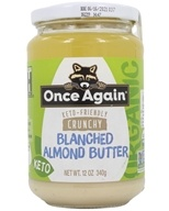 Organic Crunchy Blanched Almond Butter - 12 oz. by Once Again
