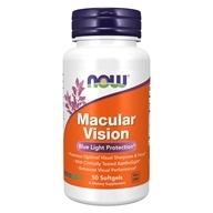 Macular Vision Blue Light Protection-50 NOW Foods按NOW Foods