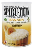 Spiru-Tein High Protein Energy Meal Banana - 2.4 lbs. by Natures Plus