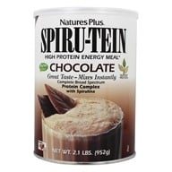 Natures Plus - Spiru-Tein High Protein Energy Meal Chocolate - 2.1 lbs.