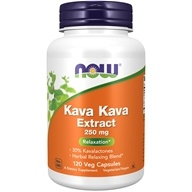 NOW Foods - Kava Kava萃取物重音支持 250 mg。 - 120 胶囊