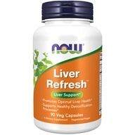Liver Refresh Detoxifier and Regenerator - 90 Capsules by NOW Foods