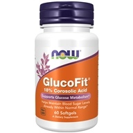 GlucoFit 24 mg。60 Softgels formerly GlucoTrim by NOW Foods