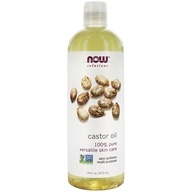 NOW Solutions Castor Oil - 16 fl. oz. by NOW Foods