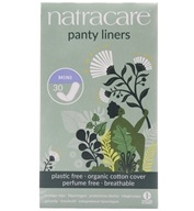 Cotton Natural Panty Liners Mini - 30 Liner(s) by Natracare (奈卡)