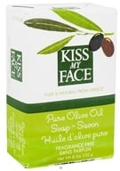 Pure Olive Oil Bar Soap Fragrance Free - 8 oz. by Kiss My Face