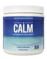 Natural Vitality - Natural Calm Magnesium Anti-Stress Drink Unflavored - 8 oz.