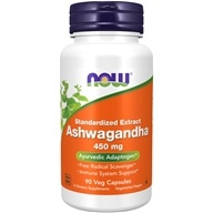 Ashwagandha Standardized Extract 450 mg. - 90 Vegetable Capsule(s) by NOW Foods