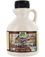 NOW Real Food Organic Maple Syrup Grade A Dark - 16 fl. oz. by NOW Foods