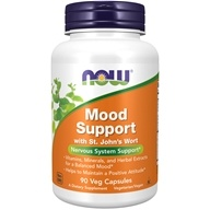 Mood Support with Saint John's Wort - 90 Vegetable Capsule(s) by NOW Foods