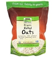 NOW Real Food Organic Rolled Oats - 24 oz. by NOW Foods