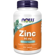 Zinc 50 mg. - 250 Tablets by NOW Foods