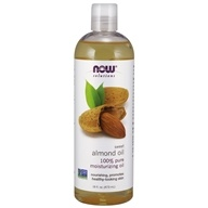 NOW Solutions Natural Moisturizing Oil Sweet Almond - 16 fl. oz. by NOW Foods