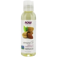 NOW Solutions Natural Moisturizing Oil Sweet Almond - 4 fl. oz. by NOW Foods