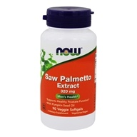 Saw Palmetto Extract 320 mg. - 90 Vegetarian Softgels by NOW Foods