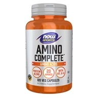 NOW Foods - NOW Sports Complete Amino Acids - 120 Capsules