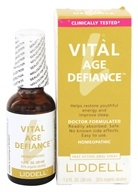 Vital Age Defiance Homeopathic Oral Spray - 1 fl. oz. by Liddell Laboratories