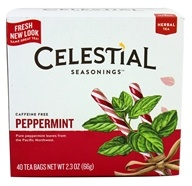 Celestial Seasonings (诗尚草本) -清凉茶咖啡因免费薄荷- 40 茶袋