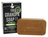 The Original Wonder Pine Tar Soap - 4.25 oz. by The Grandpa Soap Co.