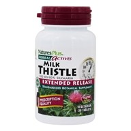 Natures Plus - Herbal Actives Extended Release Milk Thistle 500 mg. - 30 Tablets