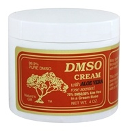 Cream With Aloe Vera Rose Scented - 4 oz. by Nature's Gift DMSO