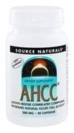 AHCC with Bioperine - 30 Capsules by Source Naturals (源美)
