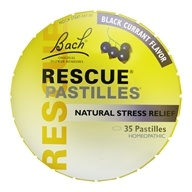 Rescue Pastilles Black Currant - 35 Pastille(s) by Bach