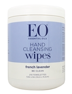 EO Products - Hand Cleansing Sanitizing Wipes Lavender - 210 Wipe(s)