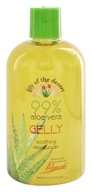 99% Aloe Vera Gelly Soothing Moisturizer - 12 oz. by Lily Of The Desert (沙漠百合)
